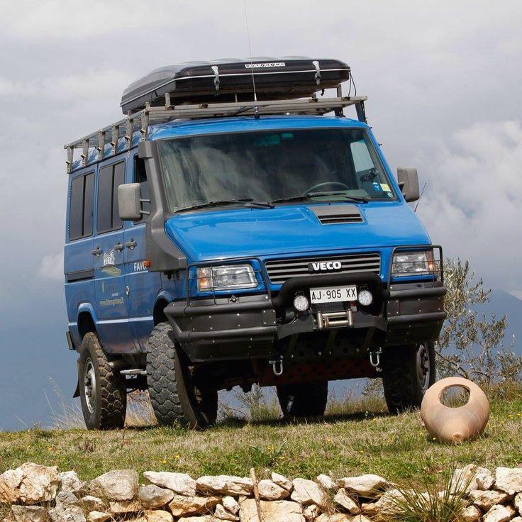Iveco daily 4x4 camion de voyage pinterest - Vivre en mobil home ...