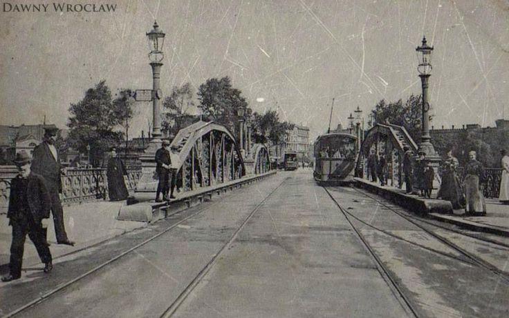 Most Uniwersytecki - rok 1912