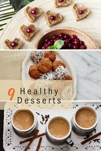 9 healthy dessert recipes you can feel good about making and eating!
