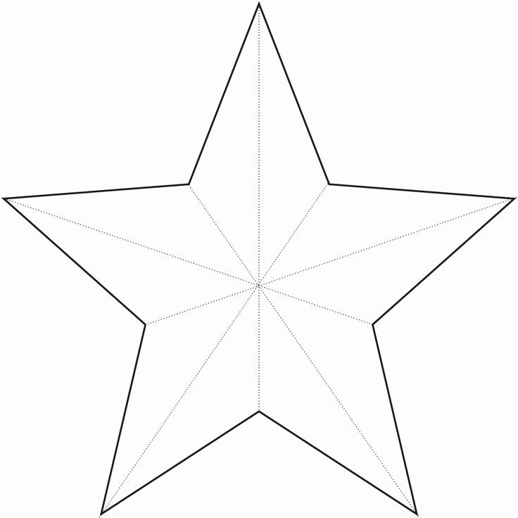 3 Inch Star Template Luxury Star Template Crafts In 2020 Star Template Paper Stars Christmas Templates