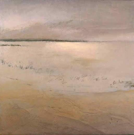 Irma Cerese, Skaket Beach #1, acrylic on canvas
