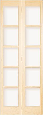3050P. Milette bifold French doors