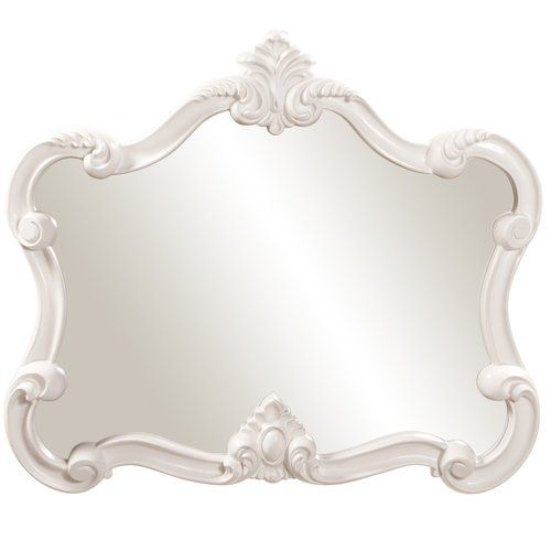 Found it at Wayfair - Resin Contemporary Wall Mirror