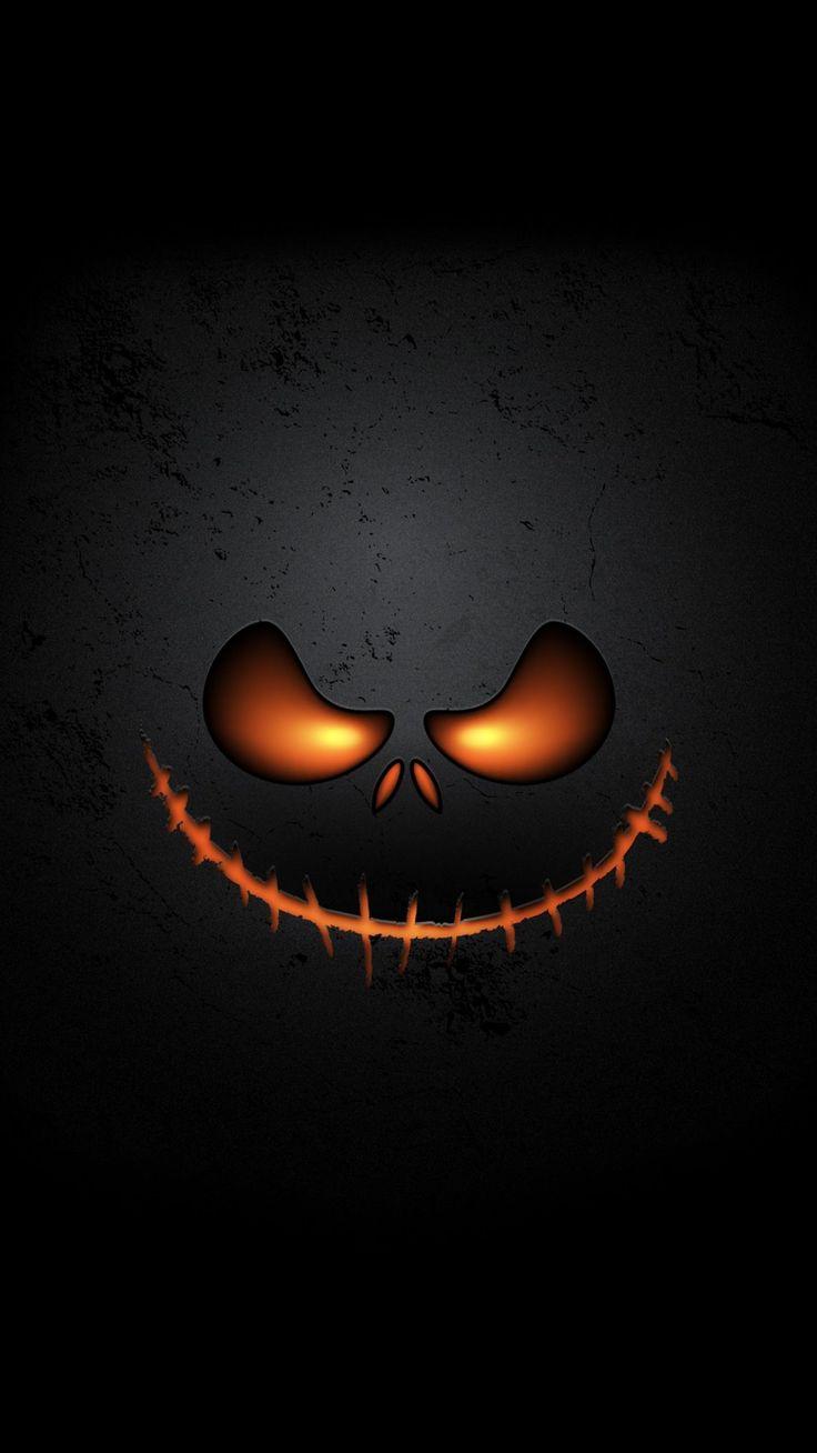 pumpkin face Halloween Wallpaper