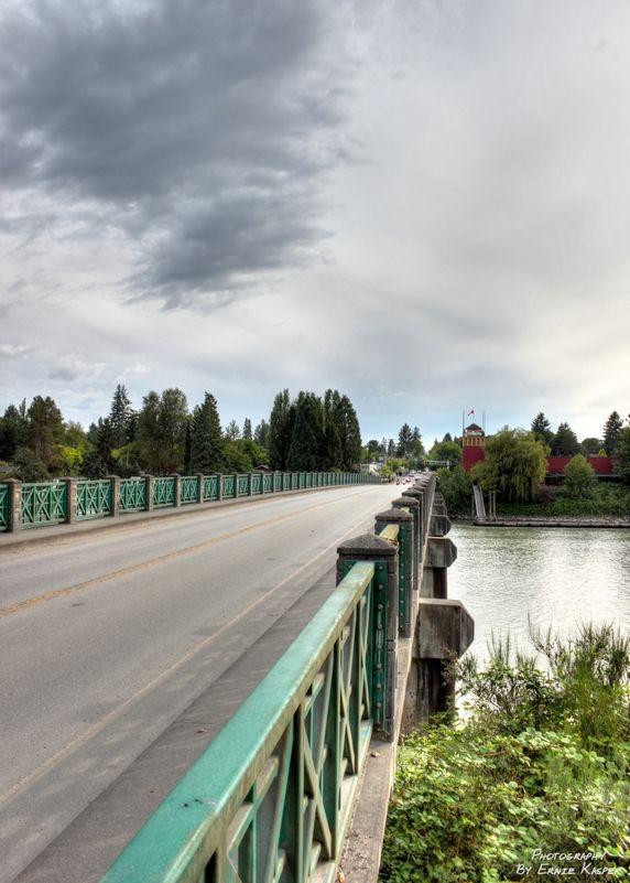 Bridge to #Fort #Langley, BC.
