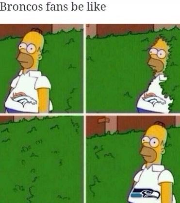Broncos fans be like