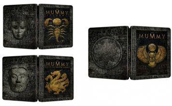 [Vorbestellen Import] Die Mumie Teil 1-3 je in einer Steelbook Edition (Blu-ray)