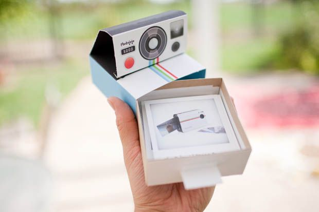 Polaroid Camera Promo Mailer