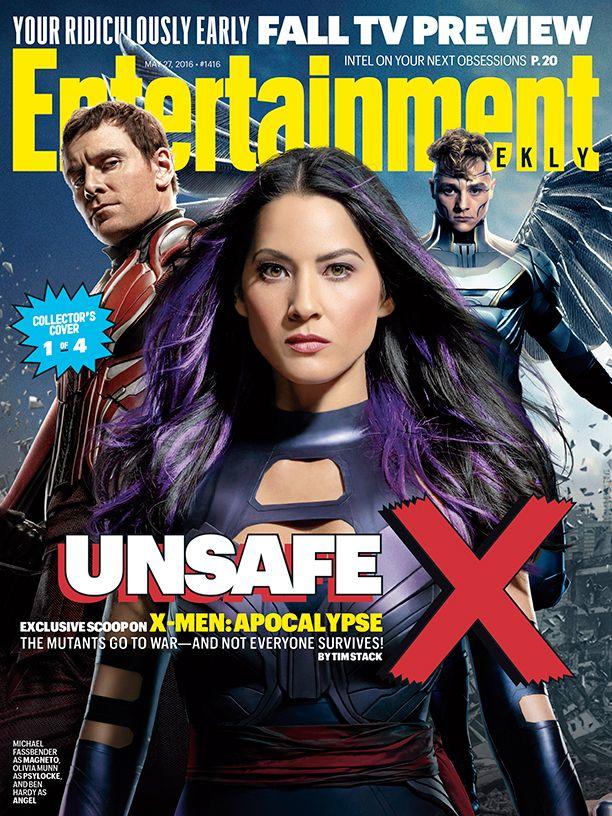 X-Men: Apocalipsis - Entertainment Weekly - BdS - Blog de Superhéroes