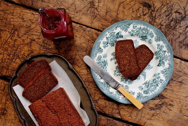 Old Fashioned Gingerbread Loaf  http://www.anyonegirl.com/taste-of-thursday-with-petite-kitchen-old-fashioned-gingerbread-loaf/