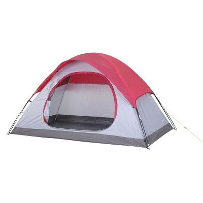DOME TENT WITH CARRYING TOTE 4'6x7