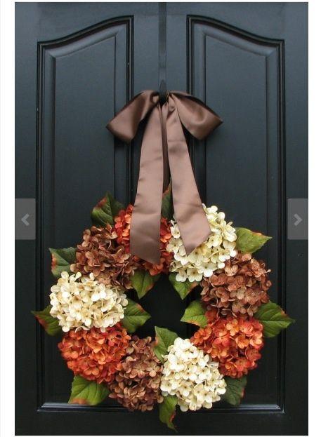 Fall wreath.