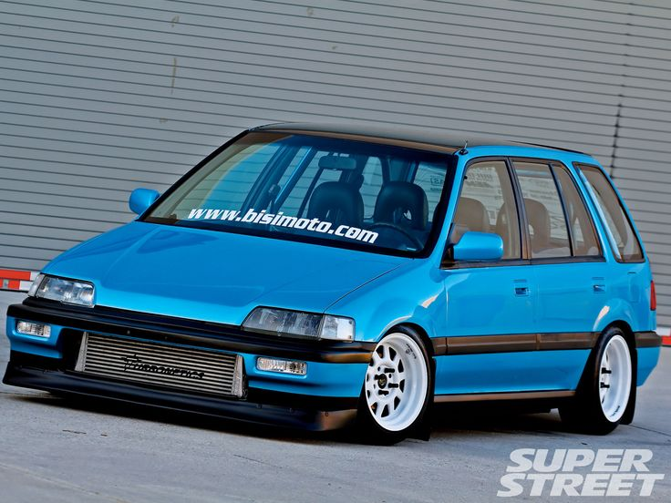 Image Detail for - Slammed Civic Wagon submited images | Pic 2 Fly