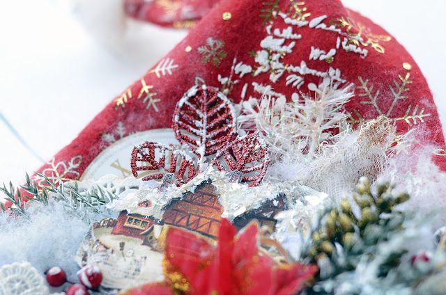 By Ekaterina_Ko: Волшебный колпак деда Мороза/Santa`s cap