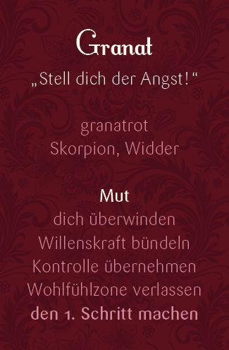 Ihre persönliche Granat Kette wird von Eva Katrin Wimmer handgefertigt. Die Granat Kette passt besonders gut zu mutigen und starken Frauen.
