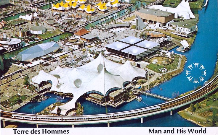 1967 Montreal World's Fair - Expo 67 Ille Notre-Dame