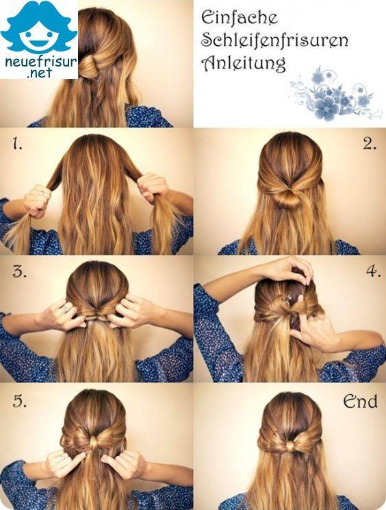 Ball frisur lange haare selber machen