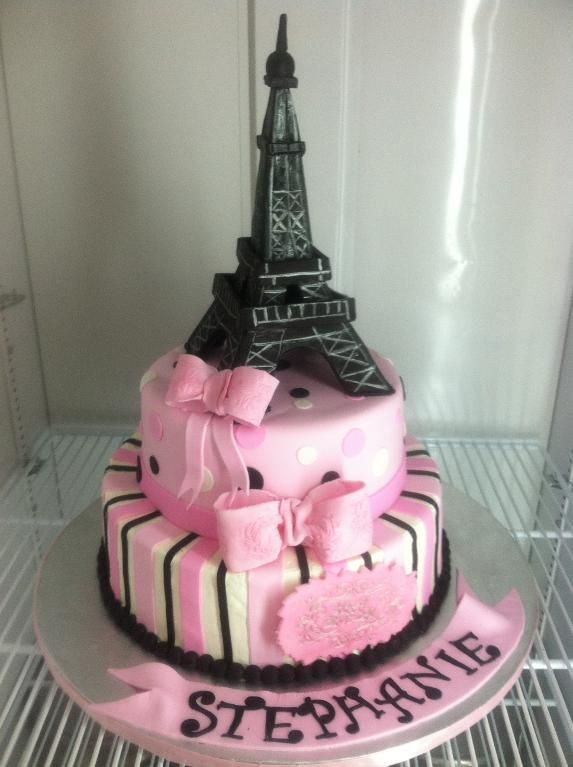 - Eiffel Tower  I have to do this for my daughter's birthday:)