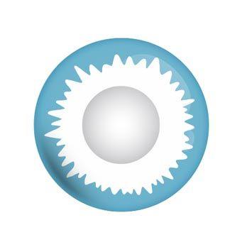 Blue Elf - blaue Kontaktlinsen von Lensspirit #contacts #contactlenses