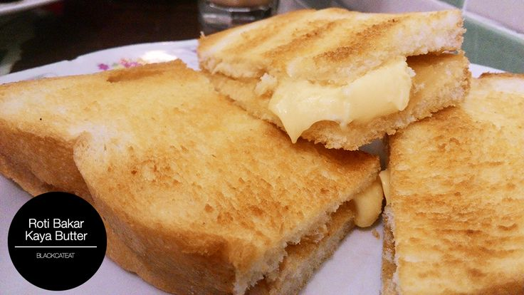 Roti Bakar Kaya Butter, Kafetien 88
