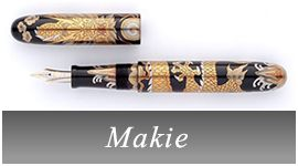 Japanese fountain pens (incl. makie)
