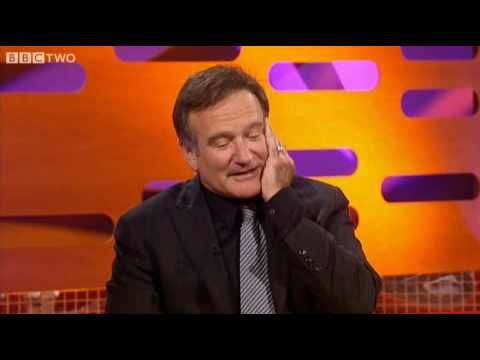 Robin Williams on The Graham Norton Show - BBC Two - YouTube