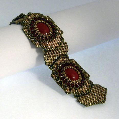 TUTORIAL Phoenix Bracelet and Ring   Mikki Ferrugiaro Designs
