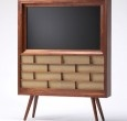 Too bad I don't know anyone handy enough to make me one of these for our television.