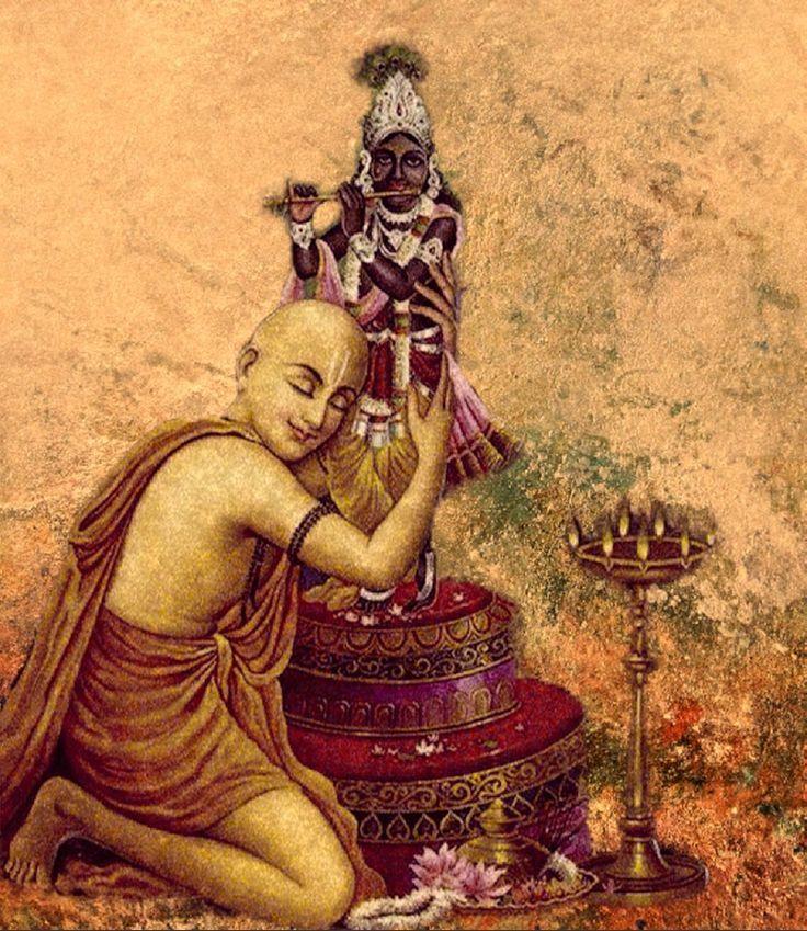 Lord Chaitanya and Krsna deitygau
