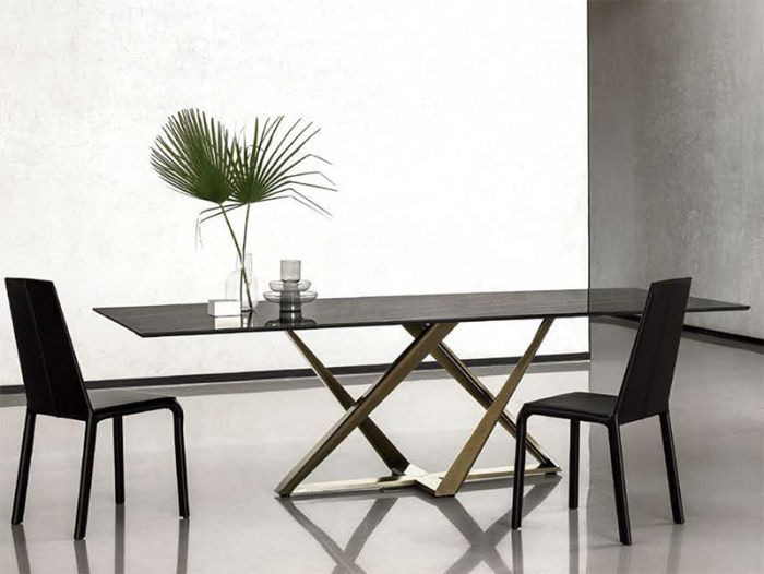 Modern Bontempi Millennium Marble Dining Table Dining Table