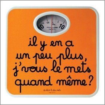 Ma balance et moi ;). #mdr #humour // www.drolementvotre.com