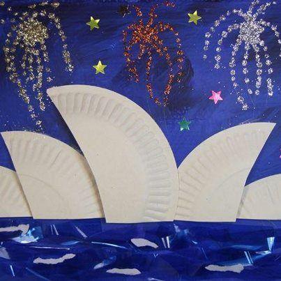 Kids craft for Australia Day Más