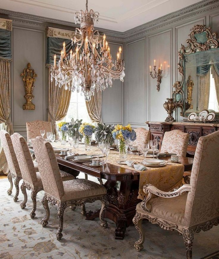 Awesome 38 Classy Dining Rooms Design Ideas Elegant Dining