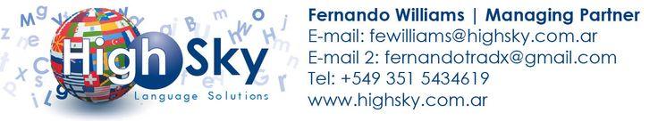 Firmas para correo electrónico.