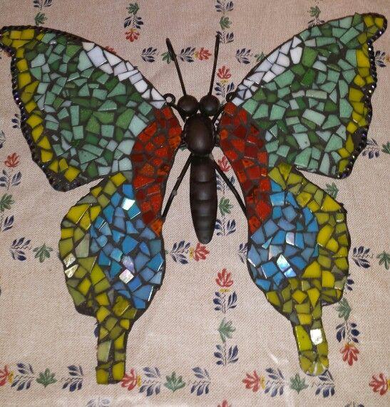 Vlinder voor mn moeder gemaakt
