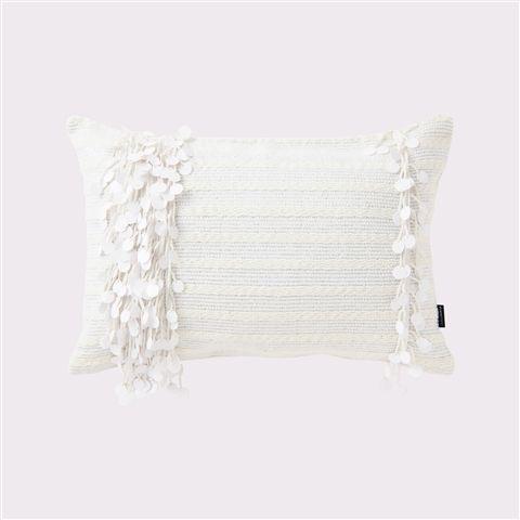 400x250 ブランテール クッションカバー ホワイト(ホワイト) Francfranc(フランフラン)公式サイト|家具、インテリア雑貨、通販