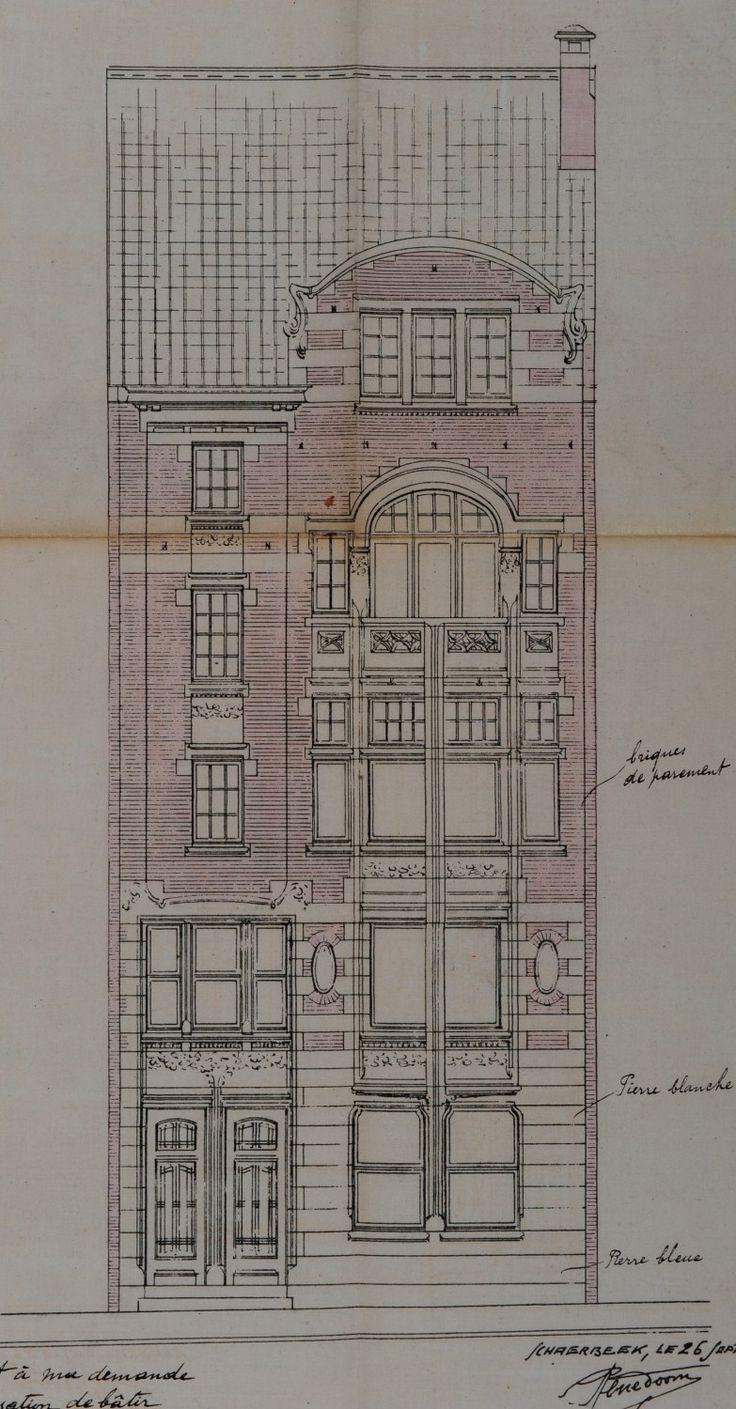 Schaerbeek rue monrose 62 64 doom rené structural
