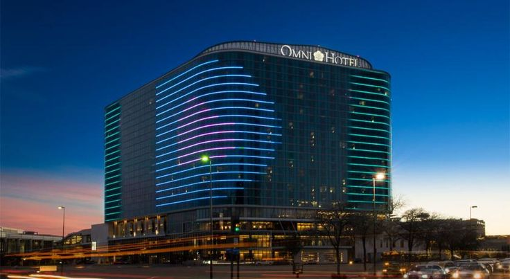 $269 Featuring an onsite fitness centre, Omni Dallas Convention Center Hotel offers accommodation in Dallas. A heated infinity pool is also available on site.