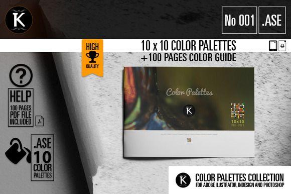 Best 10x10 Color Palettes No001