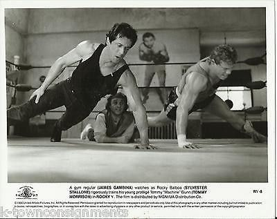 SYLVESTER STALLONE TOMMY MORRISON ROCKY V MOVIE ACTORS VINTAGE MOVIE STILL PHOTO