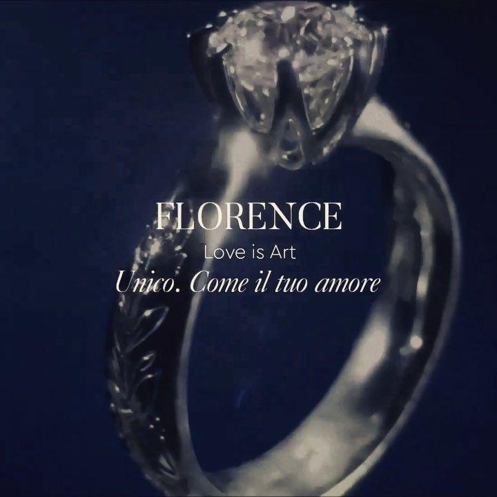 Splendida collezione di Recarlo solitari in oro e diamanti con incisione personalizzata #solitario #anellodifidanzamento