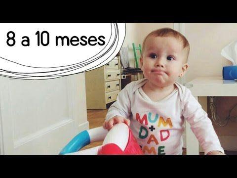 Actividades Bebé 8 a 10 meses - Estimulación Temprana - YouTube