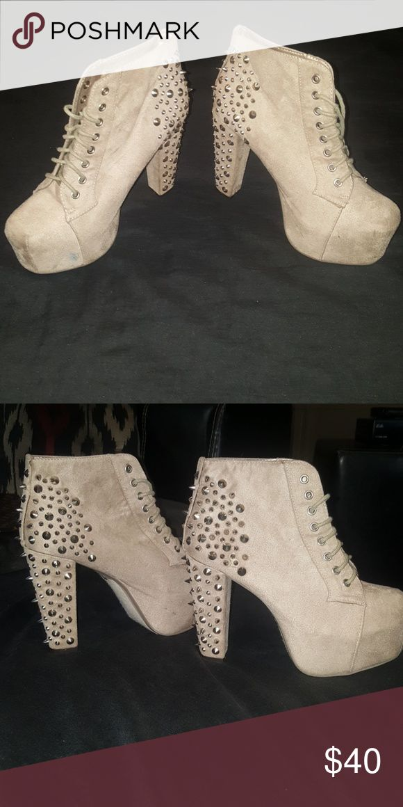 Spiked Heels Fashionable spiked heels Shoes Heels