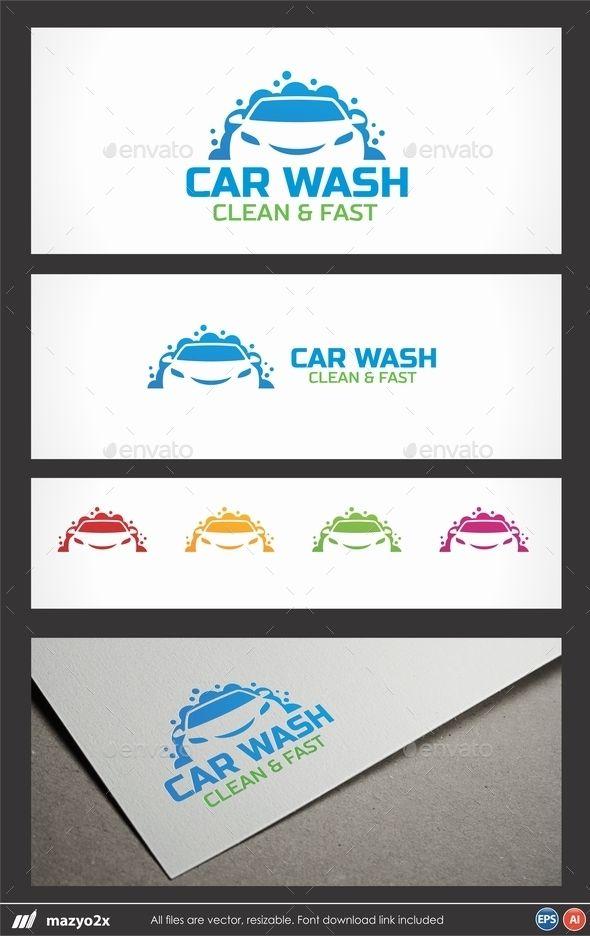 Car Wash Logo (AI Illustrator, Resizable, CS, auto, auto body, Auto Wash, automotive, blue, car, car body, car wash, cartoon, clean, cleaning, dent, detailing, drive, driver, fast, fresh, fun, funny, green, logo, painting, paintless, repair, service)