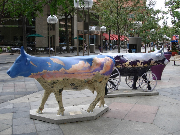 Painted Cows Downtown Denver.