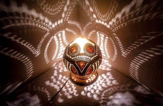 Valentine's Day Sales Gourd lamp Ottoman Turkish lamp