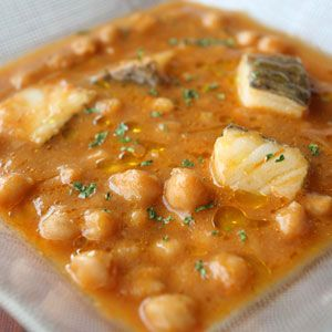 Garbanzos con Bacalao: Andre Chickpeas, Chickpeas Stew, Stew Recipes, With Cod, Chickpea, Saltec Cod, Jose Second, Chickpeas, Salts Cod