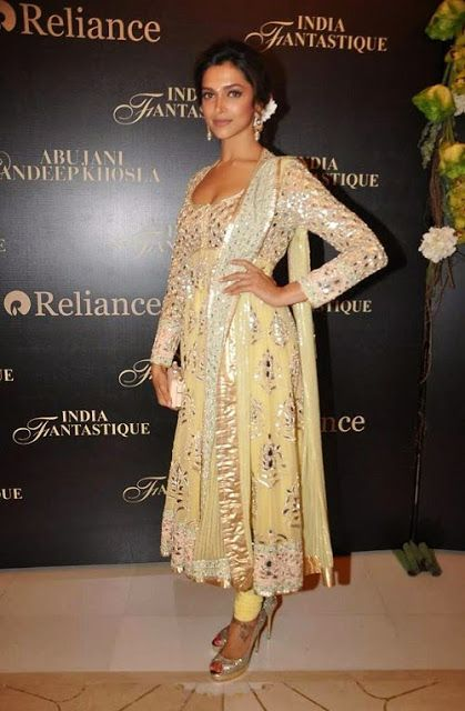 Gorgeous Anarkali Suits worn by Bollywood actresses, Indian Fashion 2013 from Livewithfashion.com
