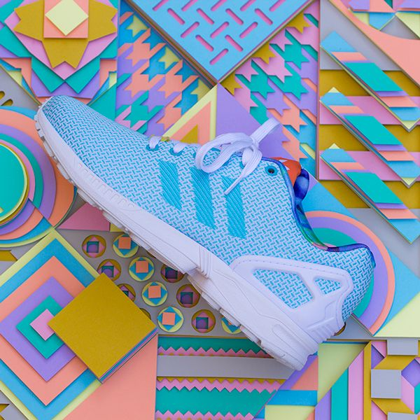 Adidas with 3D paper art