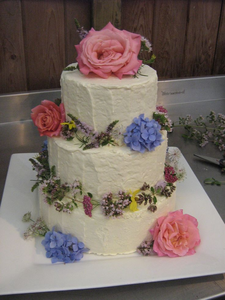 To recap the journey thus far… Wedding Cake Dilemma Wedding Cake Trial Cake for 60 Cream Cheese Swiss Meringue Buttercream: an Exercise in Perseverance A few days before the wedding, I took t…